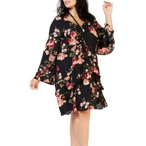 Signature by Robbie Bee Plus Size Chiffon Dress
